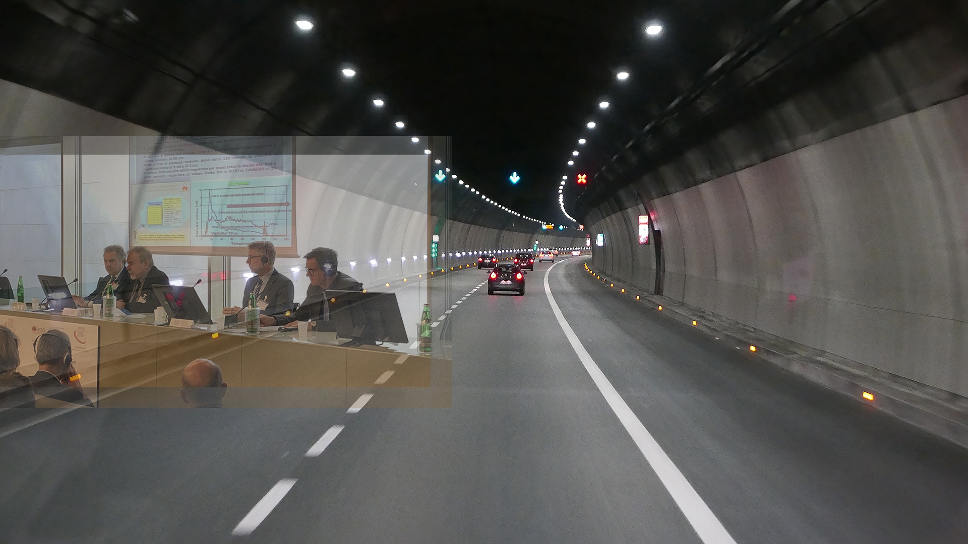 Alternative measures for tunnel safety