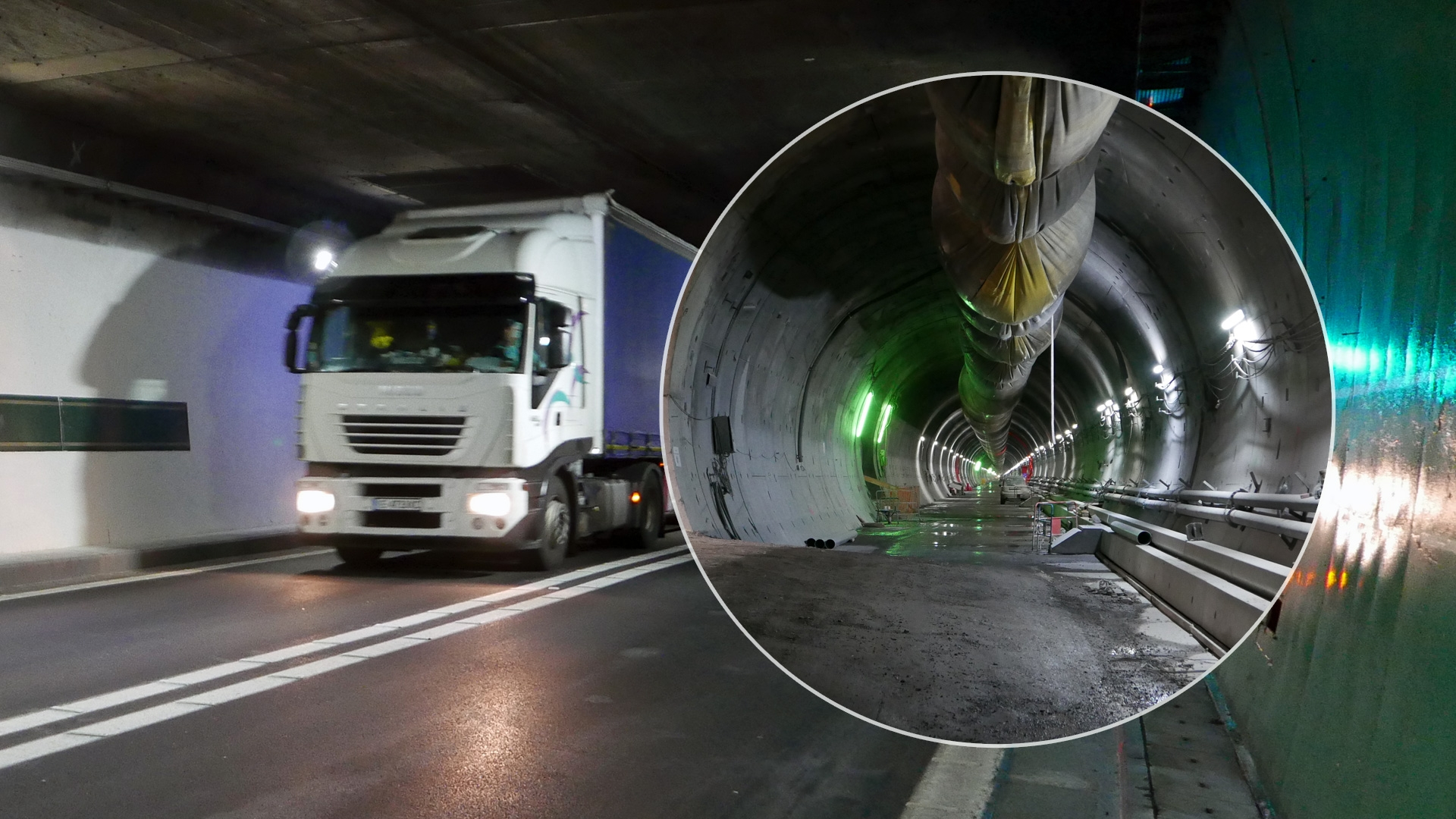 Improved safety concept in new Fréjus tunnel