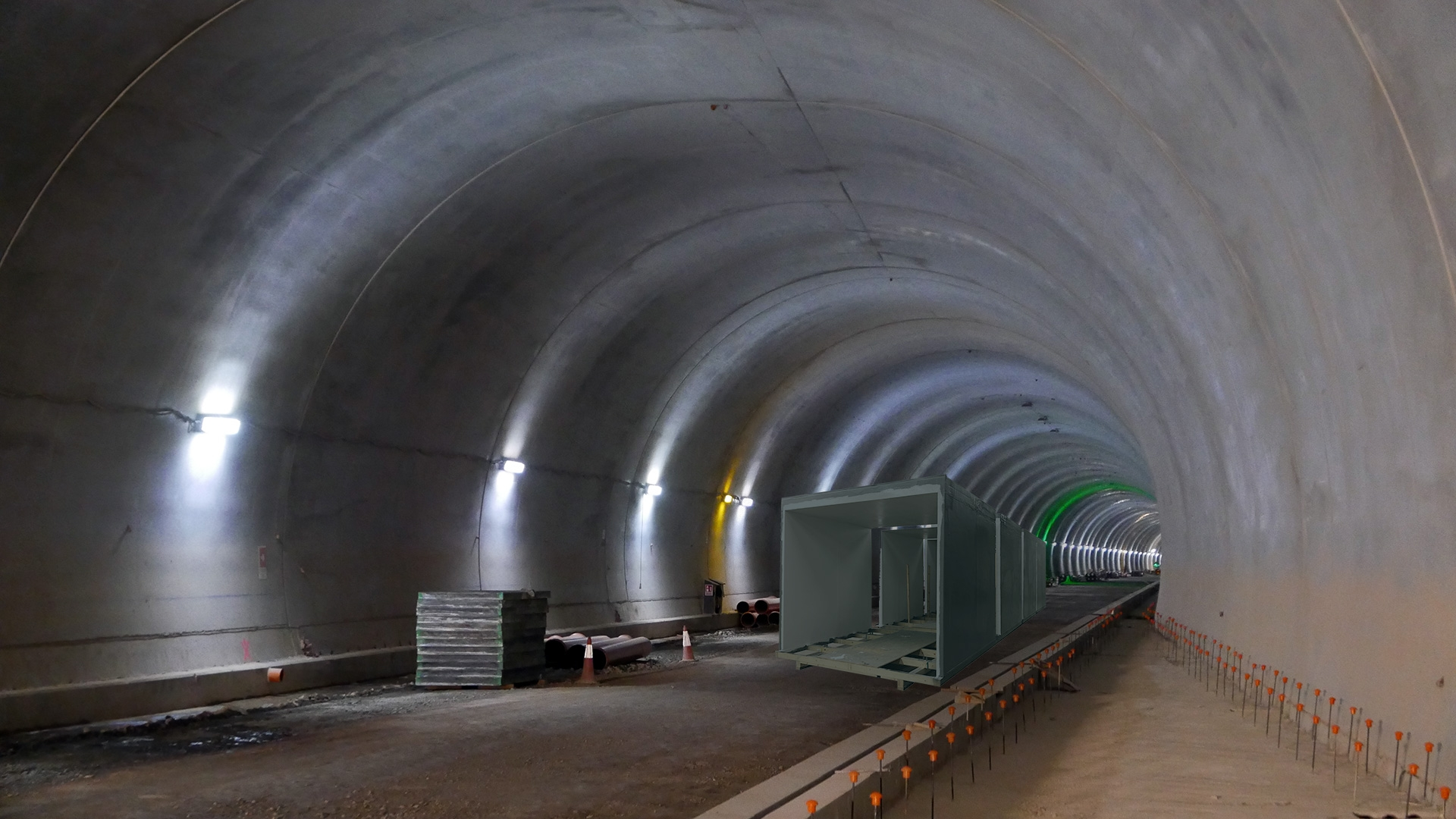Innovative construction materials in tunnels