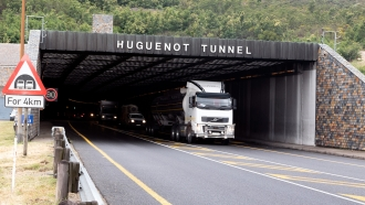 Improving operation and safety in the Huguenot tunnel