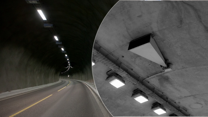 Public Address System In bidirectional tunnels
