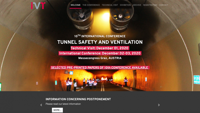 02. Tunnel Safety & Vent. 2020, Graz, Austria